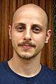 Der Wikipedia-Autor Tobias Schwarz aus (D) Hannover debütierte im Juli 2012 mit einem Artikel über den Künstler, Grafiker, Layouter, Cartoonist und Bühnenbildner Dieter Hinz.jpg