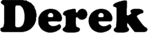 Derek (TV series) - Image: Derek TV series logo
