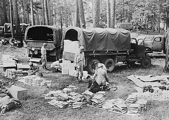 Louisiana Maneuvers - Quartermaster Supply Unit during Louisiana Maneuvers.