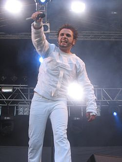 Dero (OOMPH!) at Ruisrock 2006.jpg