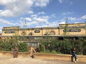 Derren Brown's Ghost Train - Image: Derren Brown's Ghost Train Exterior