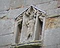 Detail from the church tower at Wroxeter. - geograph.org.uk - 47601.jpg