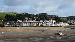 Instow - The centre of Instow, as seen from Appledore