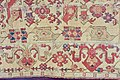 Detail of a white-ground Selendi rug. So-called Bird rug with cloud band (or squid) border. 16th century. Sighişoara Monastery Church, Transylvania, Romania.jpg