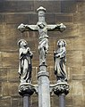 Detail of the Crucifixion from Our Lady and the English Martyrs Church in Cambridge.jpg