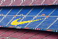Detalle das bancadas do Camp Nou. Barcelona B42.jpg
