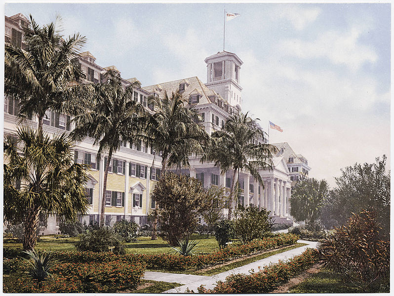 Royal Poinciana Hotel in Palm Beach Florida
