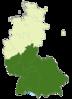 Deutschland Lage der 2. Bundesliga Süd.PNG