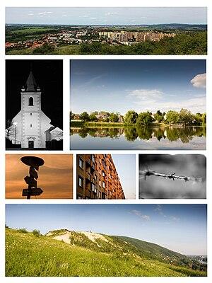 Devínska Nová Ves - Image: Devinska kolaz