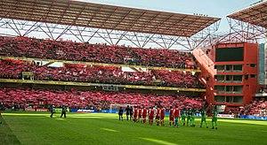 Estadio Nemesio Díez - Image: Diablos 05