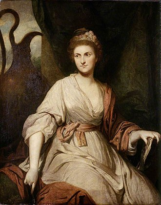 Lady Diana Beauclerk - Portrait of Diana Beauclerk by Joshua Reynolds, 1763–1765