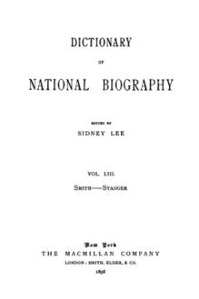 Dictionary of National Biography volume 53.djvu