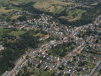 Diefflen - Diefflen, Aerial view from the southwest