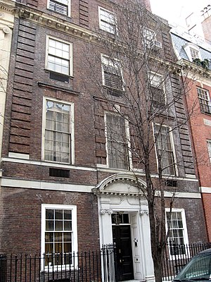 East 80th Street Houses - Image: Dillon house 124 E80 jeh