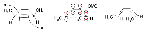 Dimethylcyclobutene ringopening mechanism.svg