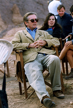 Franc Roddam - Director Roddam on the set of Cleopatra (1999)
