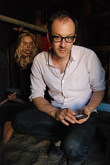 Director Nicholas McCarthy on the set of THE PACT (2012).jpg