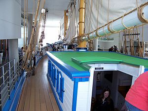 Discovery World -  88-foot replica of the Challenge, a mid-1800s Great Lakes freight schooner
