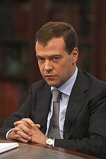 Presidency of Dmitry Medvedev
