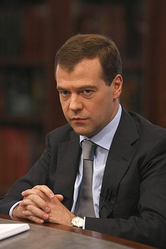Presidency of Dmitry Medvedev - President Dmitry Medvedev