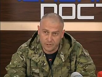Right Sector - Dmytro Yarosh, Tryzub's leader and the former leader of Right Sector.