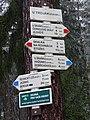 Dobřichovice, Hřebeny, rozcestník U Trojáku (01).jpg