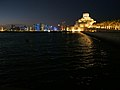 Doha skyline, Museum of Islamic art (43162846111).jpg