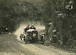 Don Harkness at wheel in RAC hill climb, Royal National Park, 1926 (4361003961).jpg