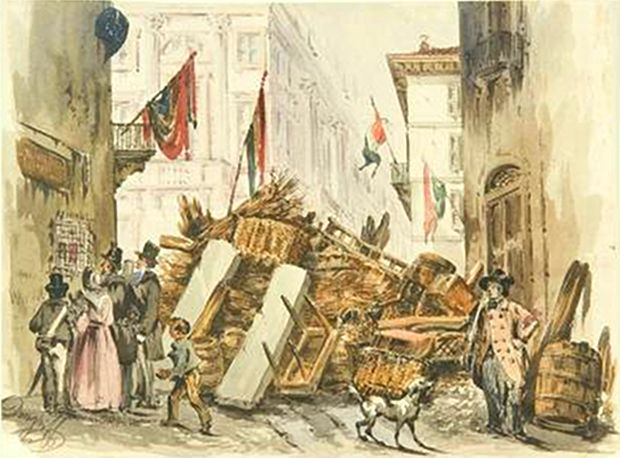 the revolution of 1848 in italy Italy - the revolutions of 1848: the first of the revolutions of 1848 erupted in palermo on january 9 starting as a popular insurrection, it soon took on overtones of sicilian separatism and spread throughout the island piecemeal reforms proved inadequate to satisfy the revolutionaries, both noble and bourgeois, who were determined to have a new and more liberal constitution.
