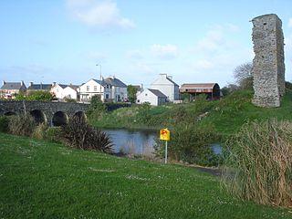 Doonbeg Village in Munster, Ireland