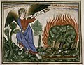 Douce Apocalypse - Bodleian Ms180 - p.024 Second trumpet.jpg