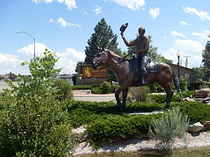 Douglas, Wyoming - Wyoming State Fair Main Entrance