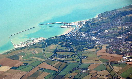 Dover from air