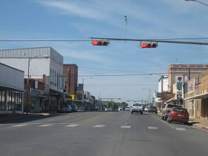 Pearsall, Texas - Downtown Pearsall