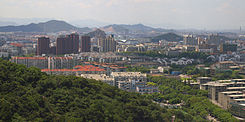 Downtown Zhenhai, 2010.jpg