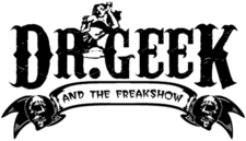 Dr. Geek And The Freakshow Band Logo.png