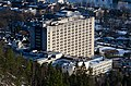 Drammen sykehus sett fra Hamborgstrømskogen mars 2020 (2).jpg