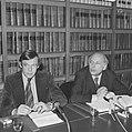 Drie progressieve partijen (PvdA, D66, PPR) presenteren schaduwkabinet, mr. H. A, Bestanddeelnr 926-0343.jpg