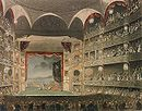 The interior of the third and largest theatre to stand at Drury Lane, c. 1808