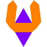 Dual elongated triangular dipyramid net.png