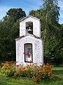 Dubá, Plešivec, kaplička a zvonička.jpg