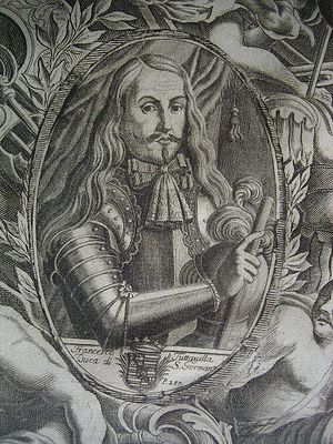 Francisco de Tutavilla y del Rufo, Duque de San Germán - Francisco Tuttavilla, Duke of San Germán. Unknown author.