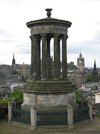 Dugald Stewart - Dugald Stewart Monument, Edinburgh