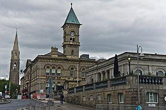 Dún Laoghaire–Rathdown County Council - Image: Dun Laoghaire Town Hall (2011)