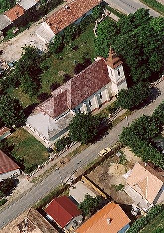 Dunavarsány - Dunavarsány - Temple from above