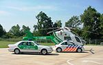 Dutch police car with German helicopter 04.JPG