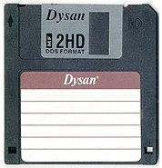 Dysan floppy disk 01