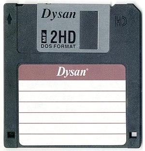 """Dysan - Dysan 3.5"""" floppy disk"""