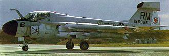 VMAQT-1 - An EA-6A Intruder of VMCJ-1 at Da Nang Air Base, 1970
