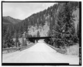 EAST PORTAL, VIEW TO WEST - Scenic Bridge, Spanning Clark Fork at Old Highway 10, Tarkio, Mineral County, MT HAER MT-122-8.tif